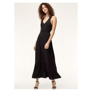 Aritzia Talula Open Back Dress